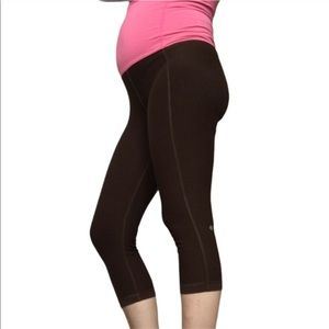 Lululemon leggings brown super high rise